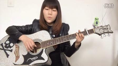 卷珠帘吉他弹唱 中国好歌曲 霍尊 山林吉他弹唱