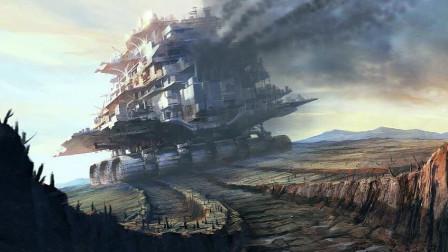 """这座""""钢铁巨兽""""竟然高过迪拜塔,《掠食城市》巅峰打造未来城市奇观"""