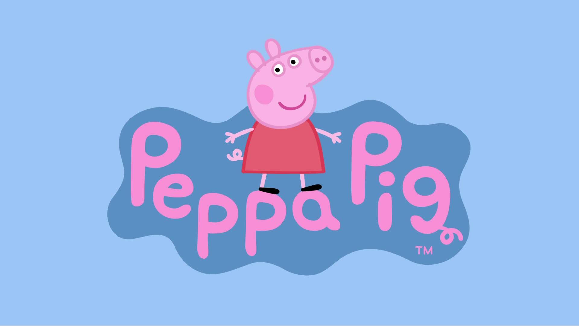 小猪佩奇|乔治在游乐园认识了一个新朋友,大家知道他的名字吗?