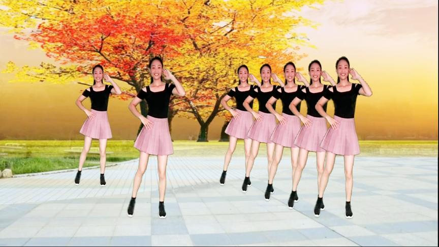 初学热门广场舞《花儿哪有阿妹俏》简单32步,精美跳法