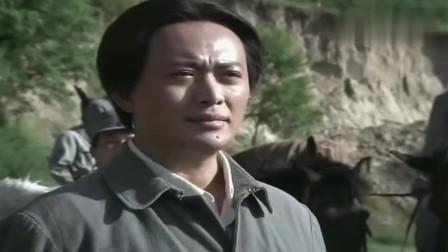 东方战场:壶口瀑布,毛泽东发表了自己的讲话