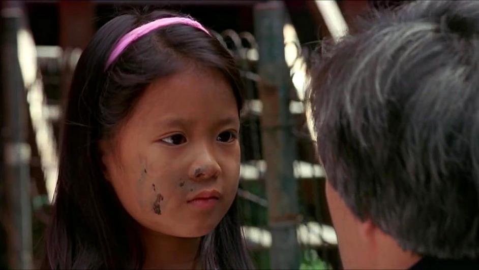英雄本色:龙四看到小女孩,出现幻觉,感觉对方就是自己亲生女儿