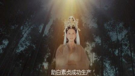 新白娘子传奇:白素贞生产,观音下凡亲自接生,胎儿出世惊呆众人