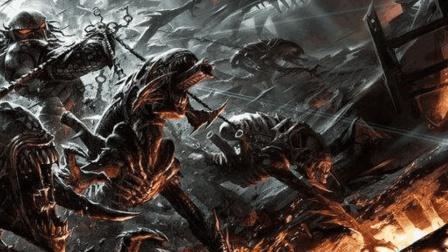 《铁血战士》中级铁血对决,互相狩猎!