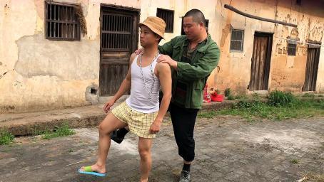 农村憨豆跳舞真搞笑,幽默,滑稽,笑到肚子疼