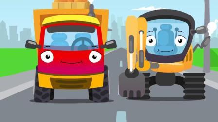 工程车小汽车玩具