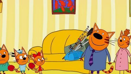 咪好一家:爸爸看了错误的时间,三只猫咪怎么把时间改回去呢