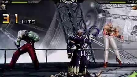 拳皇2008暗黑魔伊格尼斯VS暗黑神魔大蛇