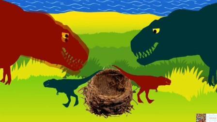 恐龙动画片侏罗纪世界2恐龙世界恐龙总动员恐龙乐园