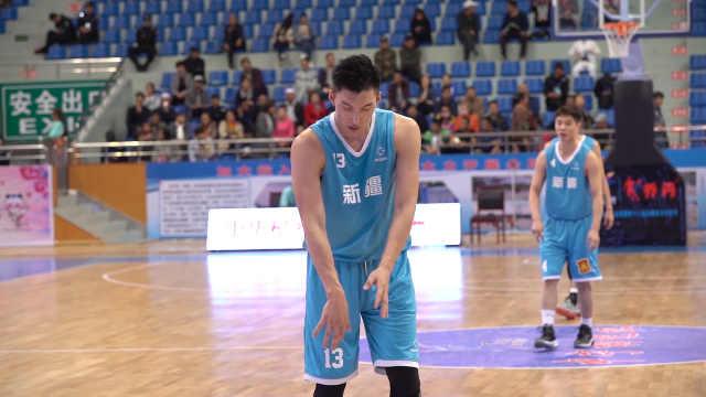 新疆队防守第一人:可兰白克·马坎
