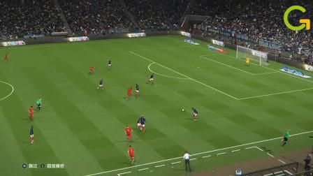 实况足球:不服来战,比利时4:1法国队,世界杯的冠军其实是他!
