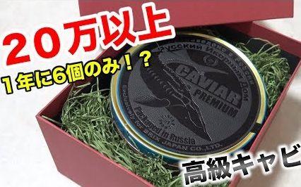 Fischer's(中文字幕)【高額】买到了一年只有六盒的超高级鱼子酱 价格居然20万円以上?!!
