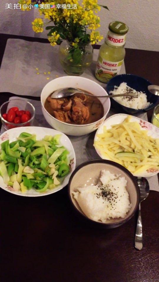 今天吃中国菜,能娶中国女人是一件多么幸运的事