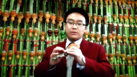 48 葫芦丝颤音的练习 金色的孔雀 片段示范.avi