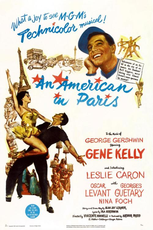 一个美国人在巴黎