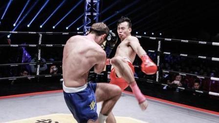 中国武警战士强势击败功夫之王, 成第一位杀入诸神的中国拳手!