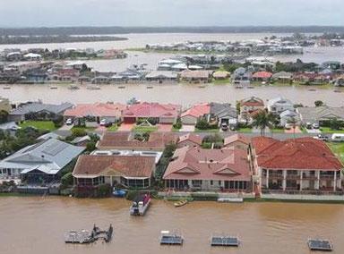澳大利亚遭遇近60年来最严重洪灾