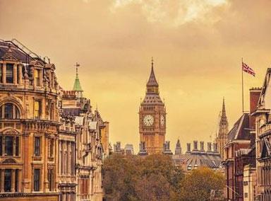 2020年英国经济萎缩11.3%