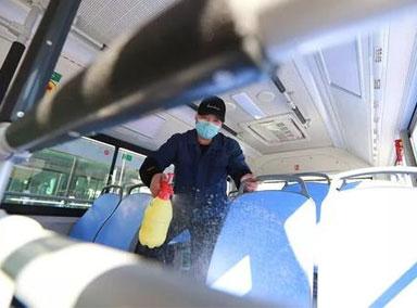 公交地铁部门:升级消毒措施