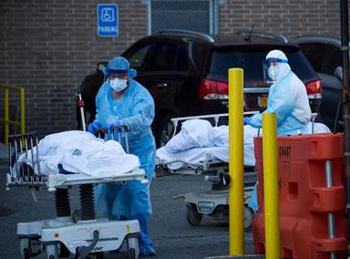 美国新冠肺炎确诊病例超1260万
