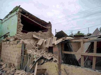 阿根廷连续发生地震 网友拍恐怖一幕