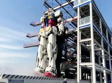 日本18米可动实体高达亮相