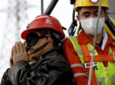 第5批获救的2名矿工获救发声