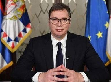 塞尔维亚总统武契奇:不确定何时打疫苗