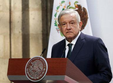 墨西哥总统洛佩斯称已感染新冠