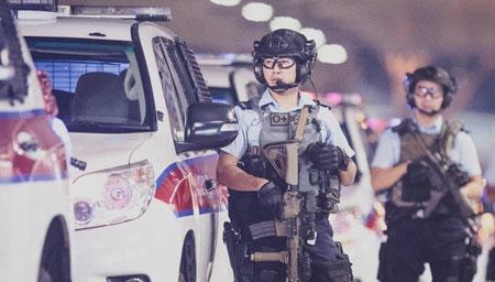 香港警察再度制作震撼新片!