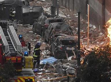 西班牙马德里大爆炸现场
