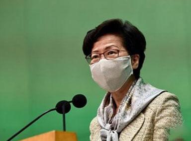 林郑月娥:不会被美国制裁吓到
