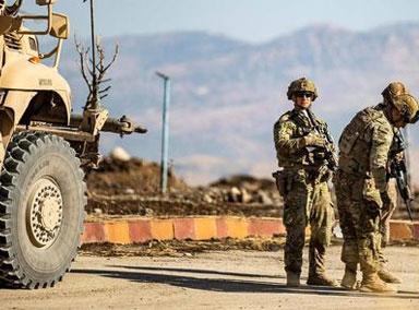 美国空袭叙利亚某民兵组织建筑