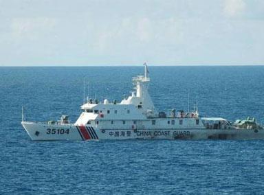 日本政府:如中国海警船登陆钓鱼岛