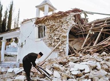 希腊中部发生6.0级地震