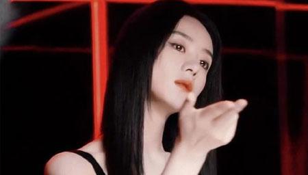 赵丽颖黑长直病娇美人
