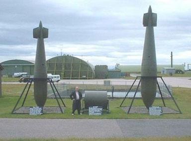 英国引爆1吨二战时期炸弹