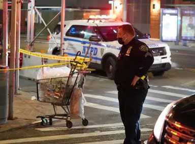 纽约再现攻击亚裔事件