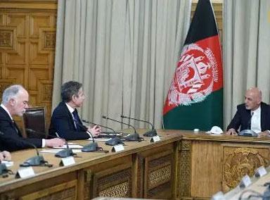 美国务卿突然到访阿富汗