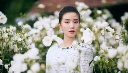 网传刘诗诗剧组探班杨幂