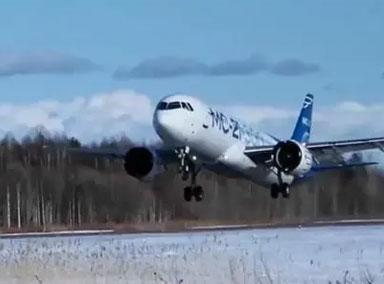 俄国产大客机极寒条件下成功试飞