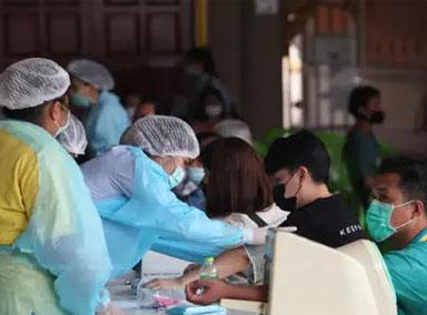 泰国:第三波疫情持续蔓延