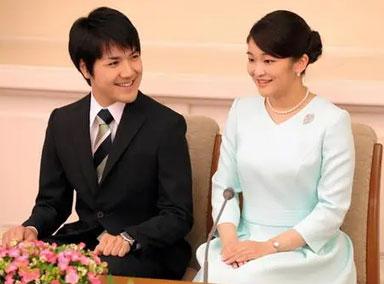 日本真子公主或将为小室圭还债 债务将近1亿日元