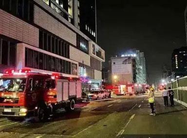 杭州一医疗门诊起火致18伤