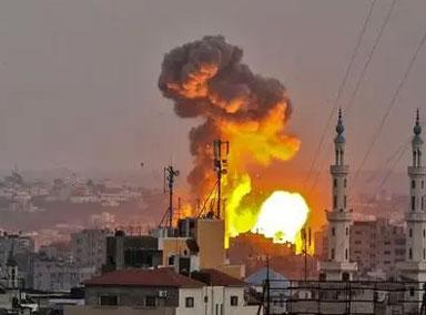 以巴局势恶化! 以色列轰炸加沙地带
