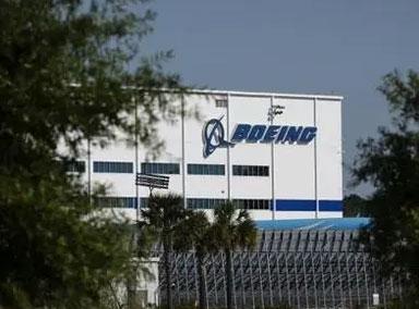 波音公司在南卡罗来纳州一工厂起火