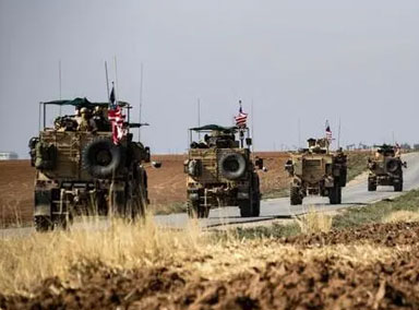 叙媒:美军从叙利亚偷原油小麦