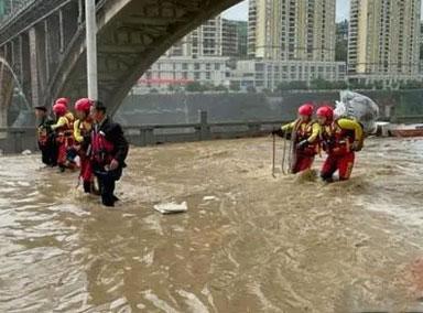 贵州毕节遭暴雨袭击