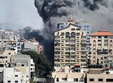 白宫就以色列炸毁媒体大楼表态