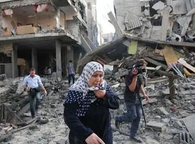 巴以冲突卷土重来?以军再次空袭加沙